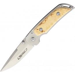 Mind Skull Bead Pewter