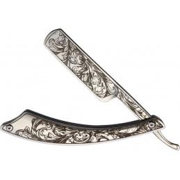 Damascus Knife Blade Heart Cut
